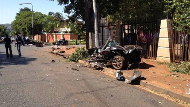 Cop And Drug Suspect Killed In 'Suspicious' South African Audi R8 Crash