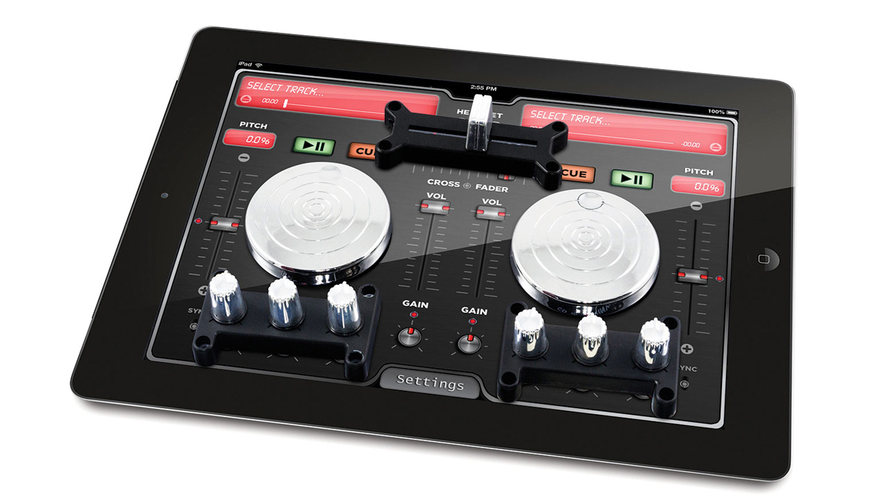 turn your ipad into a dj station with turntables and suction cups rh gizmodo com au Radio DJ DJ Software