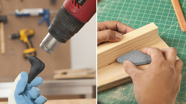 Moldable Sanding Blocks Are the Perfect Shape For Any Abrasion