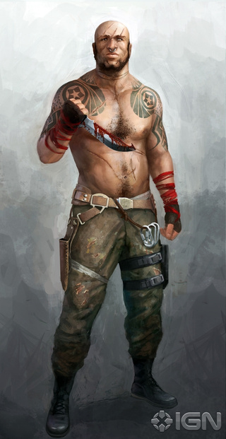 This Is What Far Cry 3's Vaas Was Originally Going To Look Like