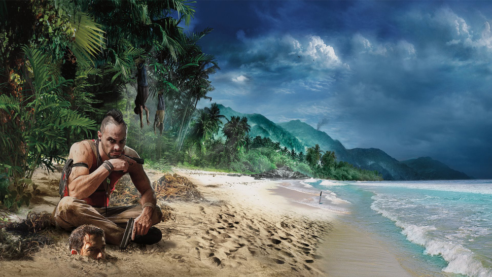 This Is What <em>Far Cry 3</em>'s Vaas Was Originally Going To Look Like
