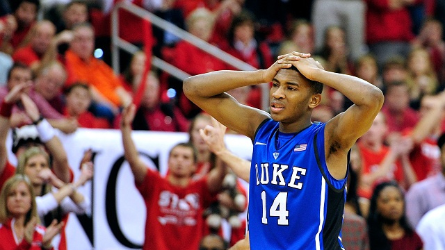 No. 1 Duke Suffers First Loss To Some Team Or Other As Nation R…