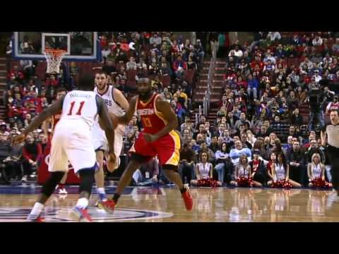 James Harden Crossover Gives Jrue Holiday Whiplash