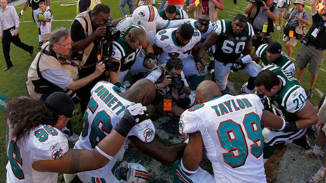 Jason Taylor Went Through Absolute Hell To Play Football