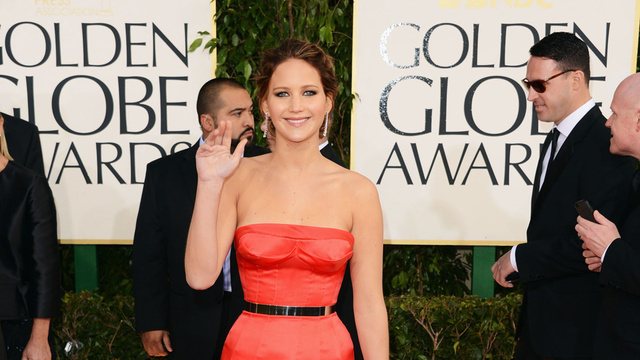 Jennifer Lawrence Would Like To Welcome You To the 2013 Gawker Golden Globes Liveblog