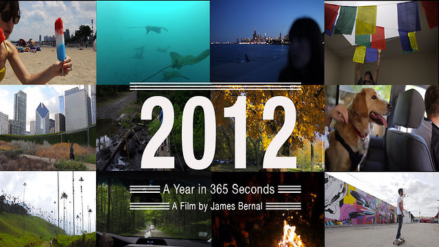 Click here to read 2012 in 365 One-Second Video Clips