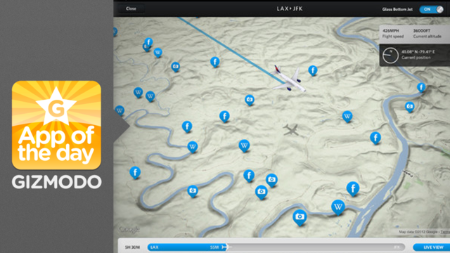 Click here to read Fly Delta for iPad: Know Exactly What You're Flying Over