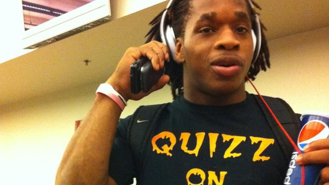 Jacquizz Rodgers Will Quizz On Your Face, If His T-Shirt Is To …
