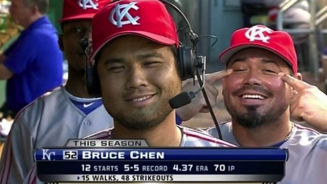 Bruce Chen Is Switching Teams For The World Baseball Classic