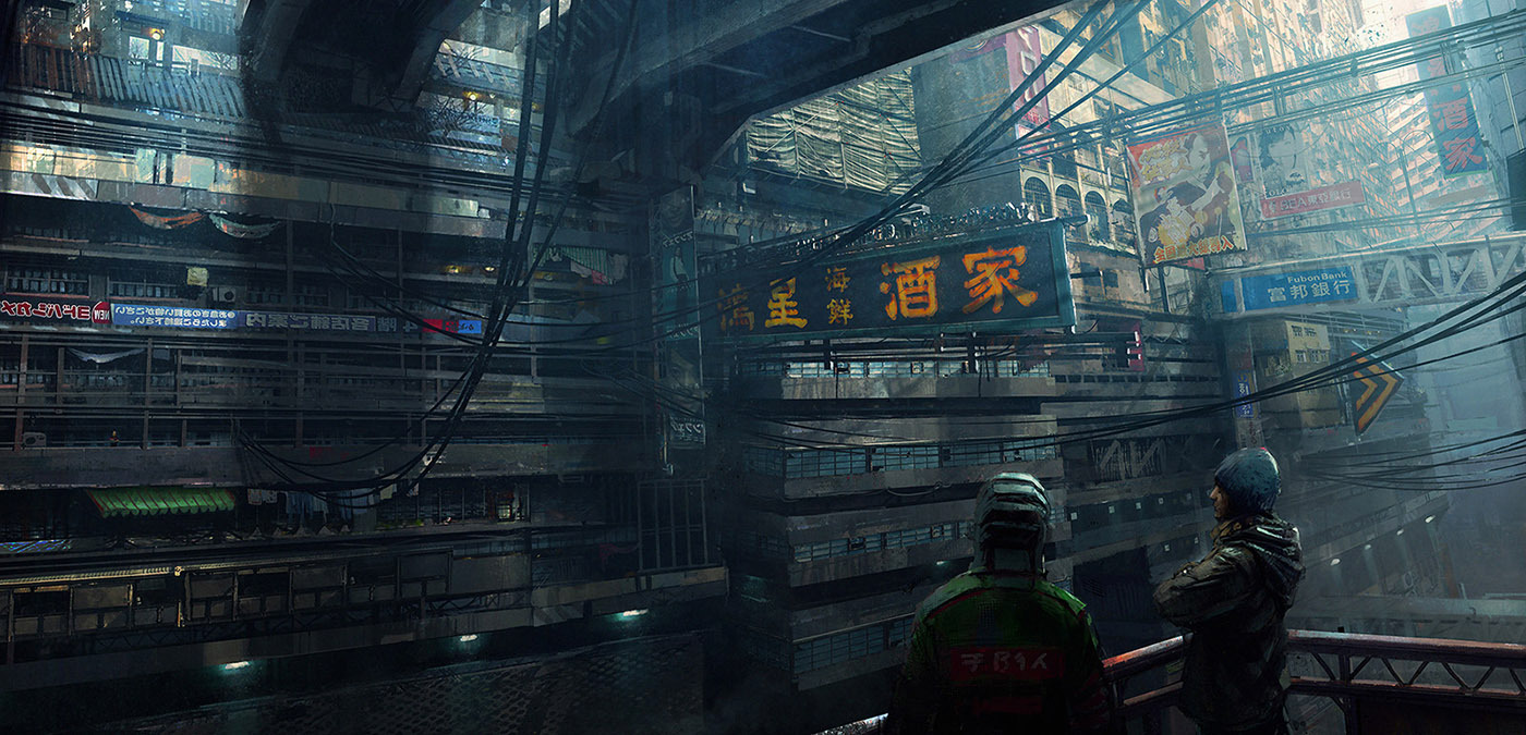 cyberpunk metropolis wallpaper - photo #33
