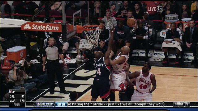 Taj Gibson Posterizes Anthony Tolliver; Stacey King Enjoys It I…