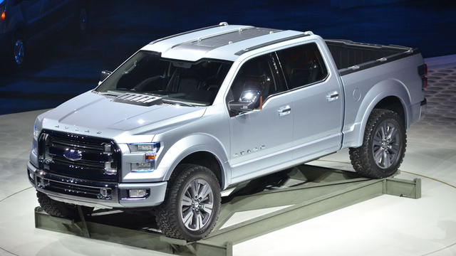 The truck was the Atlas, Ford's new concept for the future of the F