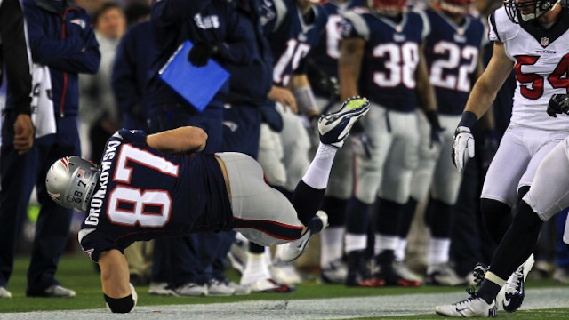 Rob Gronkowski's Twice-Broken Arm Might Always Be At Risk