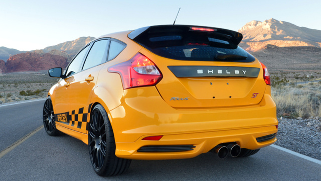 Shelby Ford Focus ST: Where Is The Tire-Murdering Horsepower?