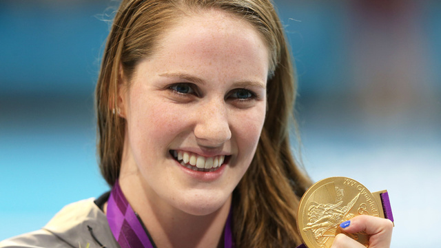 Olympic Gold Medalist Missy Franklin Is Swimming for Her High School Like It's No Big Deal