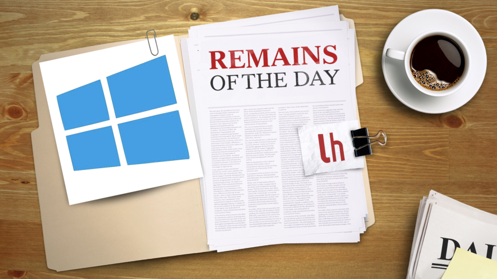 Remains of the Day: Windows 8 Upgrades to Get Much More Expensive