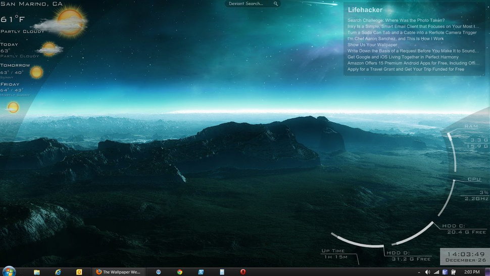 The Aurora Desktop