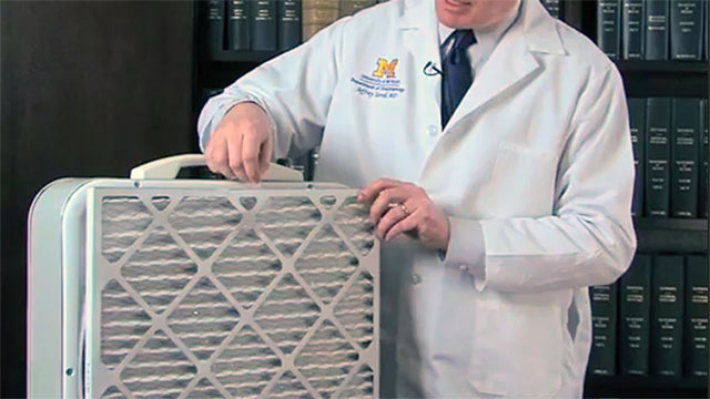 Make a Simple Air Purifier with a Fan and a Furnace Filter