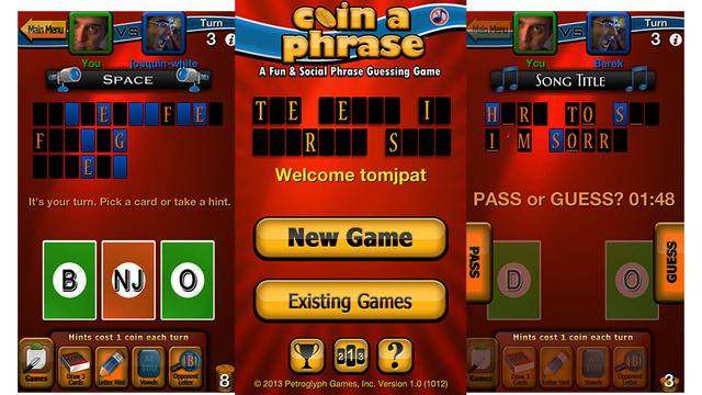 From the Real-Time Strategy Masters at Petroglyph: A Social Word Game for the iPhone