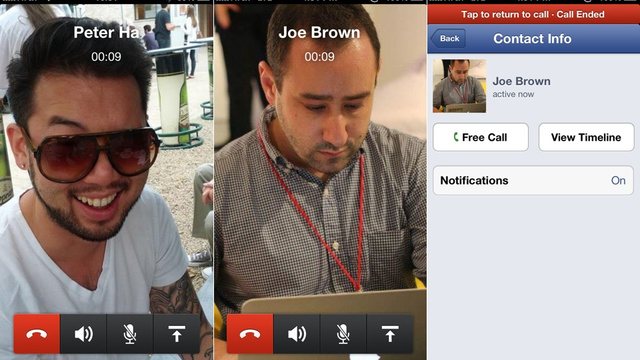 Click here to read Free Voice Calling Rolls Out on Facebook Messenger for iOS