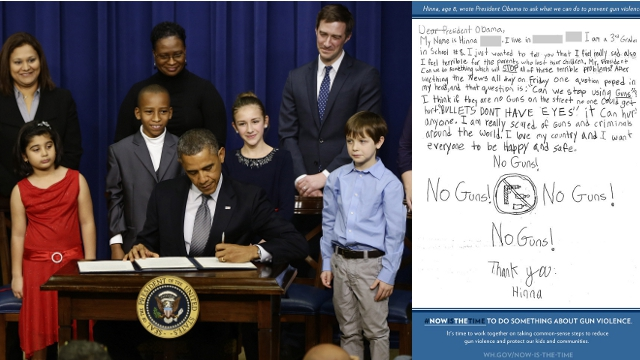 The Touching Letters These Kids Wrote President Obama After the Sandy Hook Shooting Will Convince You to Support Gun Control