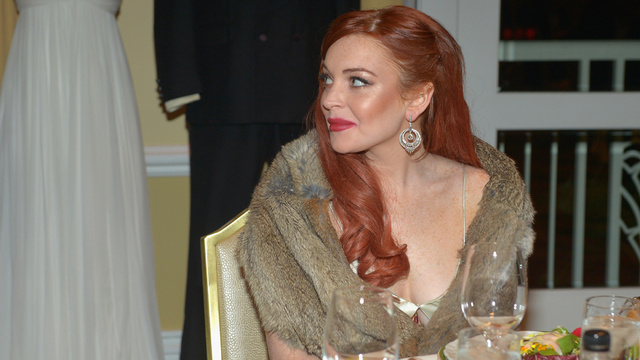New Report Says Lindsay Lohan Is a Paid Escort for Rich Guys (She'll Do Handholding But No Sex Stuff)