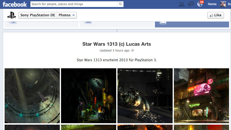 PlayStation Germany Lists Seemingly Next-Gen Star Wars 1313 For PS3