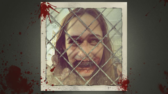 Turn Yourself into a Zombie with Dead Yourself, The Walking Dead Photo App, Win Some Killer Swag