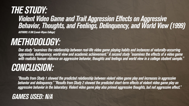 synthesis essay do violent video games cause aggressive behavior In sum, the traditional belief that violent video games cause aggressive behavior is not supported by today's research in fact, it isn't scientifically proven to steer our behavior in any one direction but, of course, gaming—whether the game you're playing is violent or not—can still have negative effects.