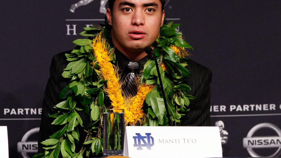 Report: Some At Notre Dame Wanted To Announce The Manti Te'o Hoax Last Week