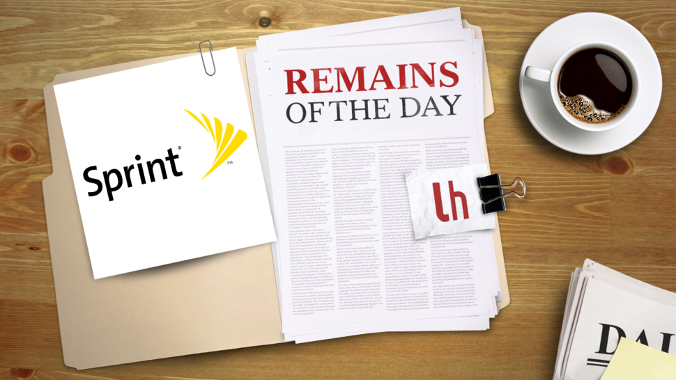Remains of the Day: Sprint Offers Its Own Extended Warranty to iPhone Users
