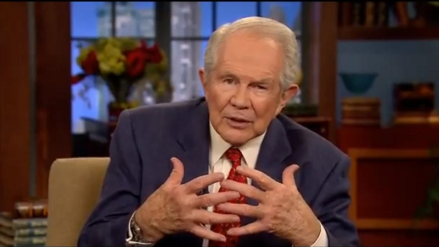 'Middle Aged Bored Couple' in Virginia Seeks Someone to Play Pat Robertson in Their Salvation-Themed Sex Game