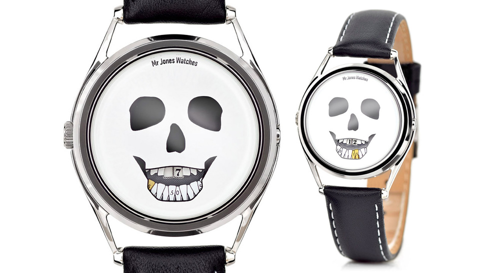 Ticking Teeth Skull Watch Walks the Line Between Clever and Morbid