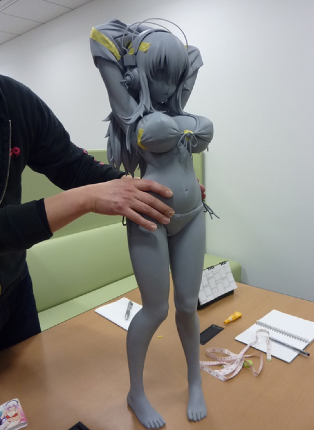 This Super Sonico Statue Is Truly Enormous