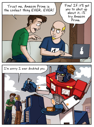 Sunday Comics: Prime Service
