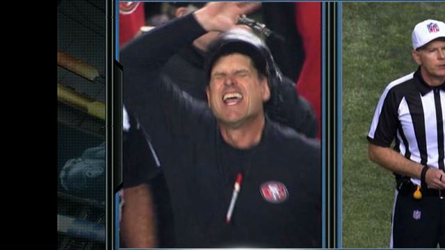 Jim Harbaugh's Failed Challenge Freakout Is Even Better In Extr…