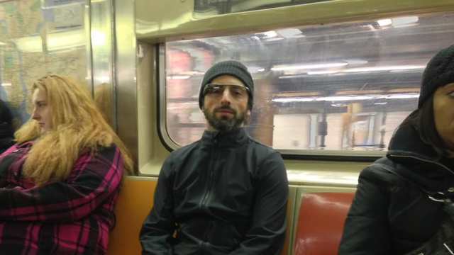 Click here to read When Sergey Brin Rides the Subway, He Does It Wearing Project Glass