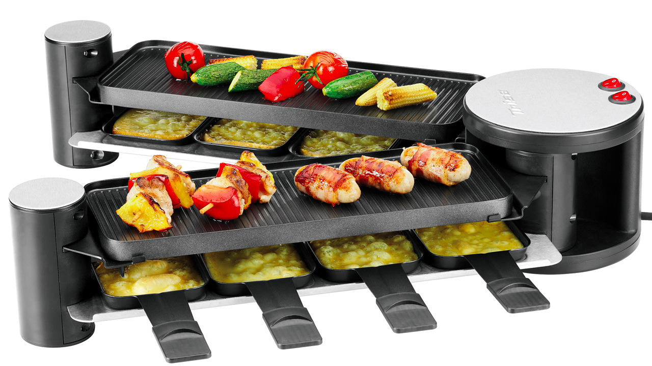 compact folding grill transforms into a spacious buffet gizmodo australia. Black Bedroom Furniture Sets. Home Design Ideas