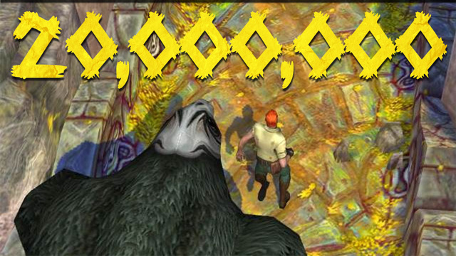 In Four Days Temple Run 2 Has Been Downloaded 20 Million Times