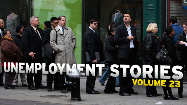Unemployment Stories, Vol. 23: 'Only My Own Cowardice Has Kept Me From Ending it All'
