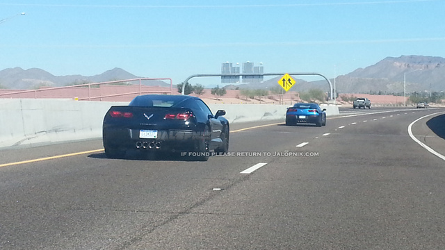 The New Corvette Stingray Strips Naked And Hits The Road