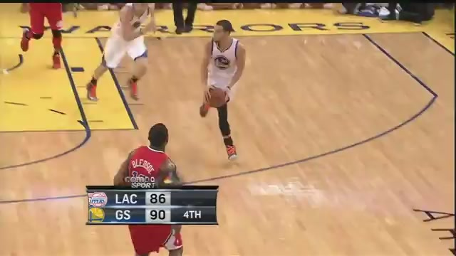 This Stephen Curry Bounce Pass Is Just Vicious