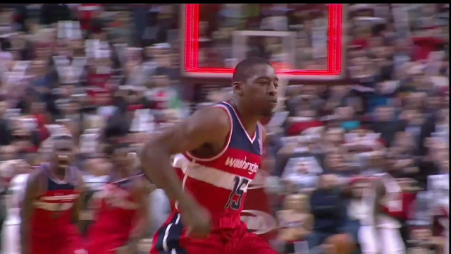 Jordan Crawford hits a very deep game-winner to down the Blazer…