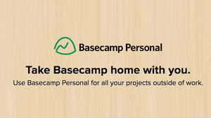 Basecamp Personal Manages Your Non-Work Projects