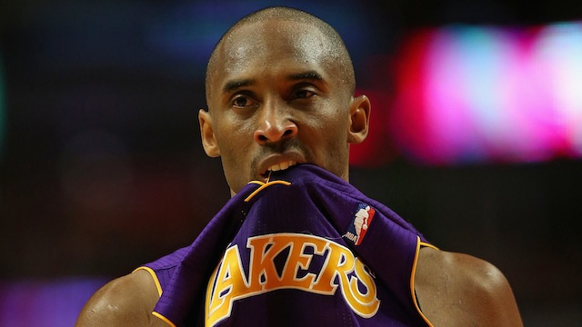 The Lakers Are Terrible, And Kobe Bryant Is Starting To Lose It
