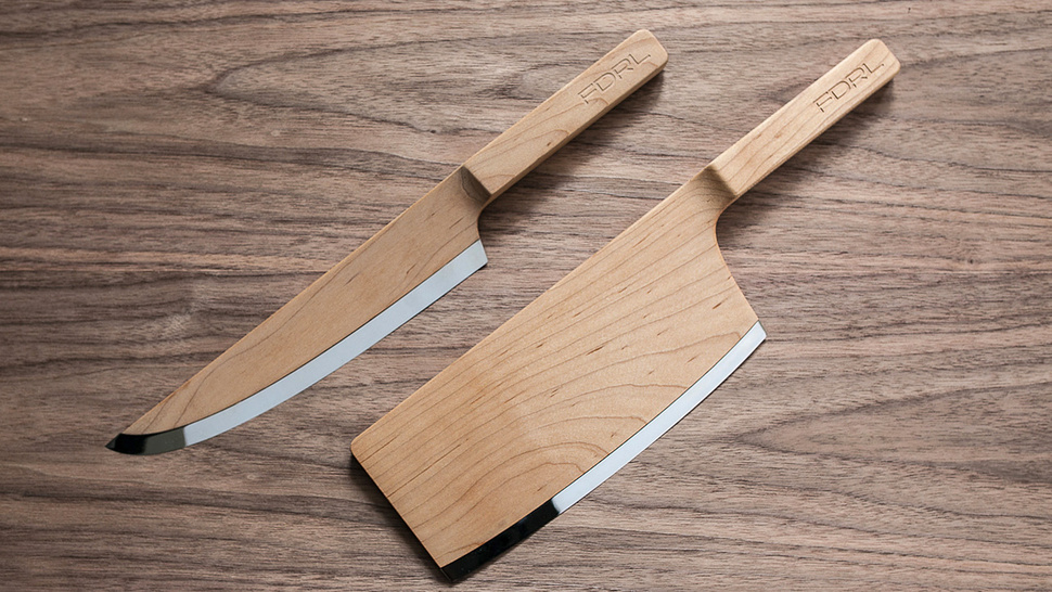 Who Cares If They're Probably Impractical? These Wooden Knives Are Stunning
