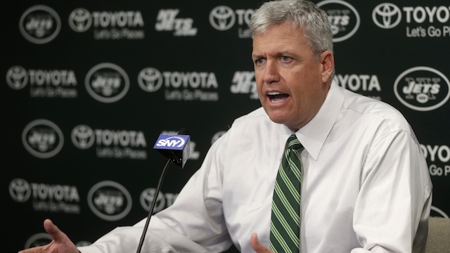 Rex Ryan Wrecked His Red Mustang After Running A Stoplight In Pennsylvania Last Week, According To Police [Updated With Photo Of Other Car]