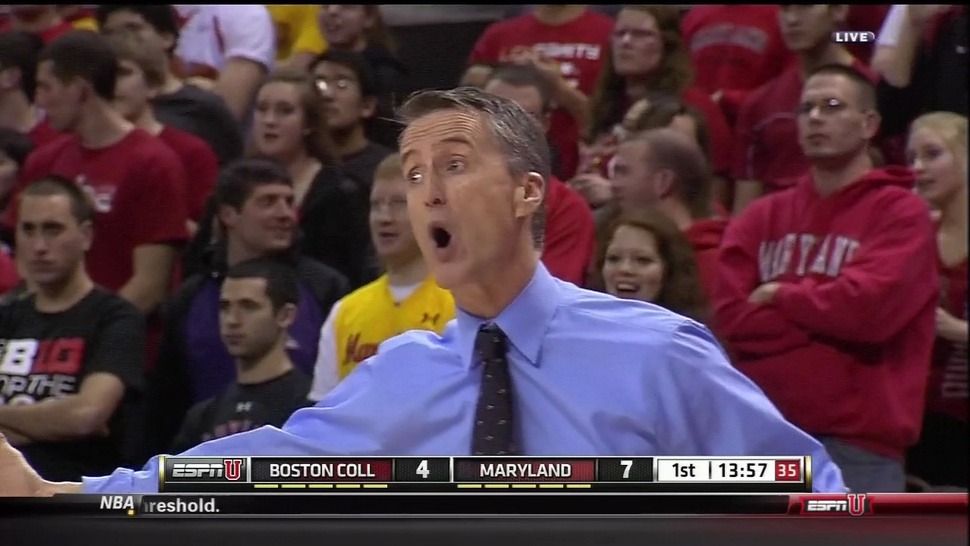 Even Steve Donahue Can't Believe How Far The Boston College-Maryland Rivalry Has Fallen