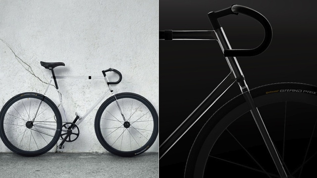Click here to read Nobody Would See You Coming on This Beautiful Transparent Bike