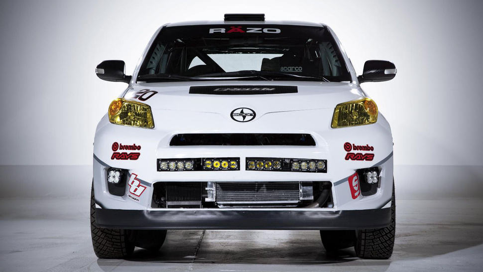 Scion's New Rally Car Looks Pretty French
